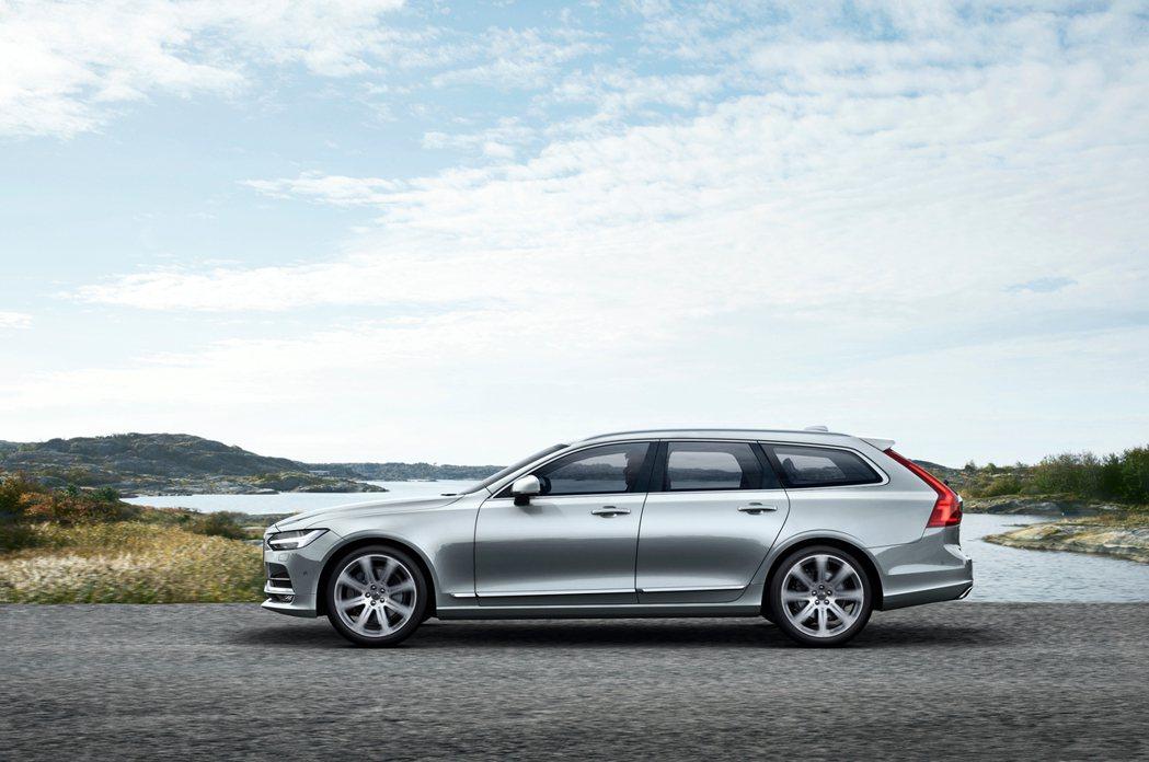 Volvo V90將取代V70,成為品牌旗艦旅行車。 圖/Volvo提供