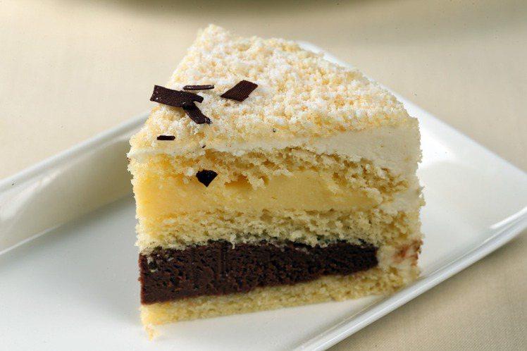 歐若拉蛋糕。記者陳瑞源/攝影