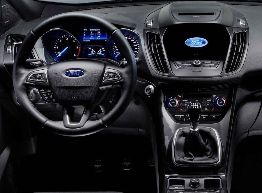 新的Kuga將會使用全新的三幅式方向盤,以及具有8吋觸控螢幕以及手勢控制的SYNC 3車載系統。 Ford提供
