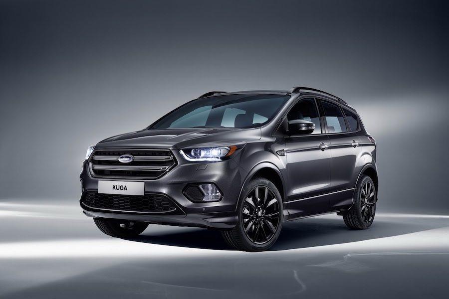 Ford原廠近日發布小改款Kuga概念圖。 Ford提供