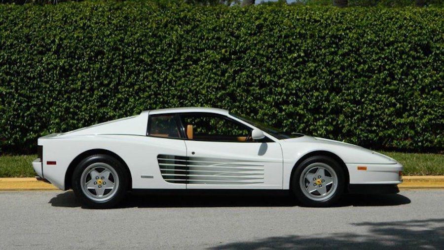電影「華爾街之狼」主角曾擁有過的Ferrari Testarossa將再度被出售。 摘自AutoBlog網站