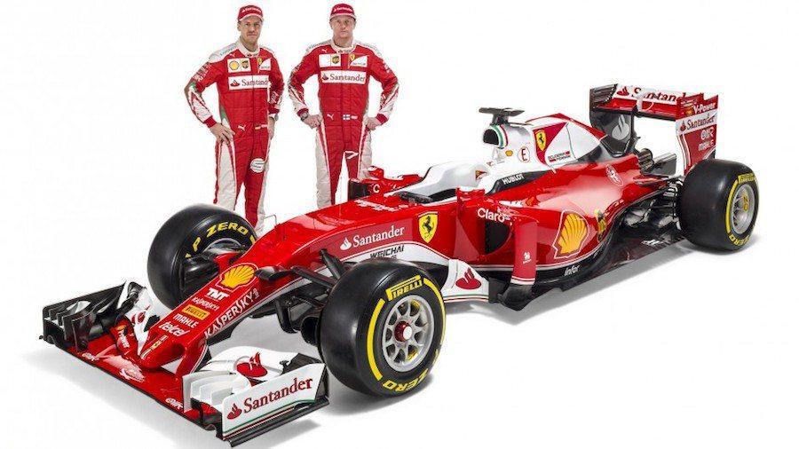 Ferrari F1車隊近日發表2016年賽季用車SF16-H。 Ferrari提供