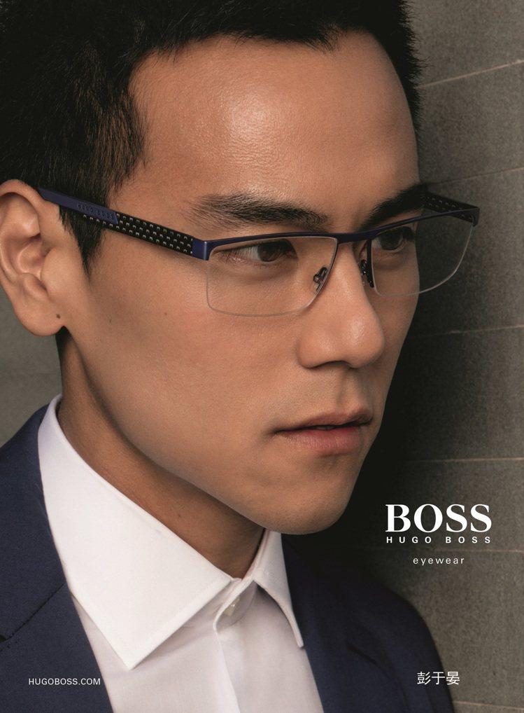 彭于晏帥氣代言HUGO BOSS眼鏡廣告,帥氣指數破表。圖/HUGO BOSS提...