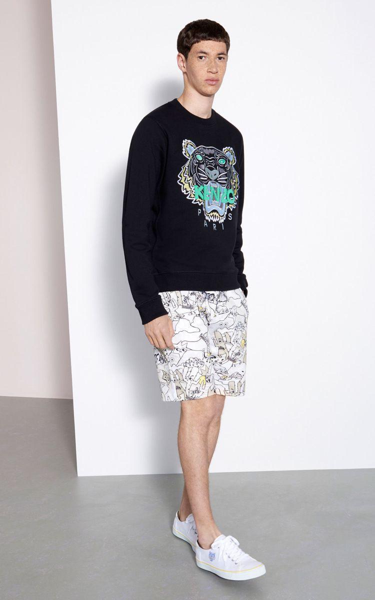 經典老虎頭衛衣調降3千元,售價9,800元。圖/KENZO提供