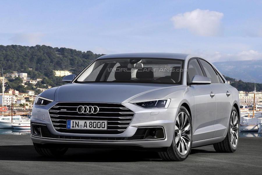 Audi預計會在今年五月份的維也納車展中發表新的V8 TDI引擎,並使用在Audi A8上。 摘自worldcarfans.com