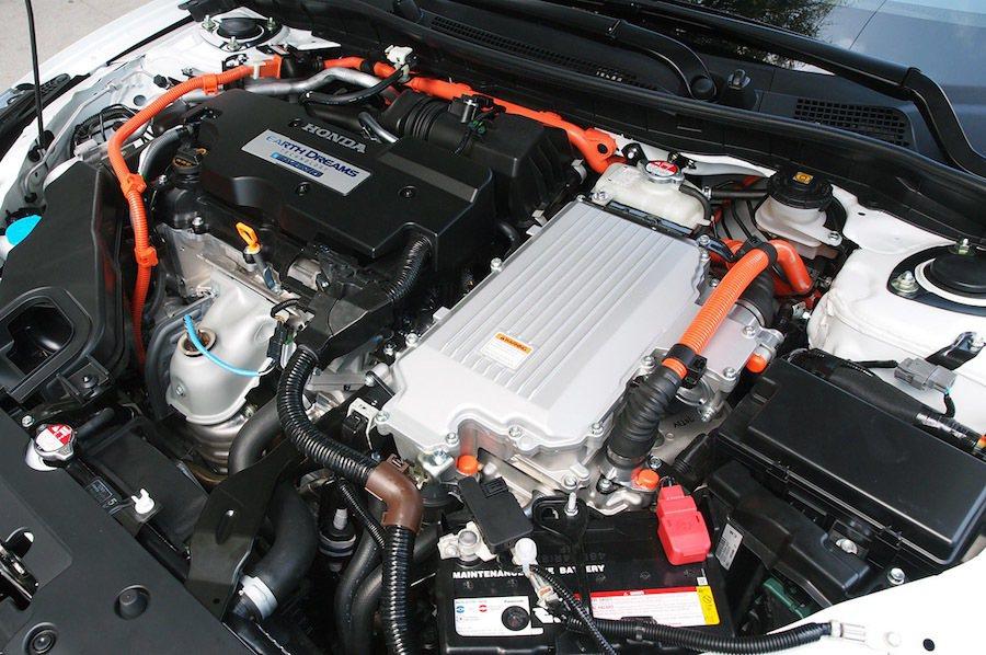 Honda新的PHEV系統將有更出色的節能表現。圖為現行系統。 Honda提供