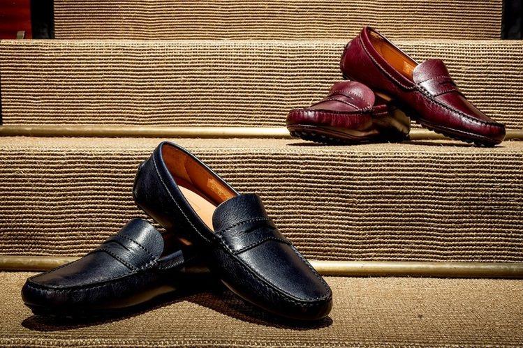 英國時尚精品dunhill與賽車有深厚淵源,開車鞋是dunhill駕車時尚的經典...