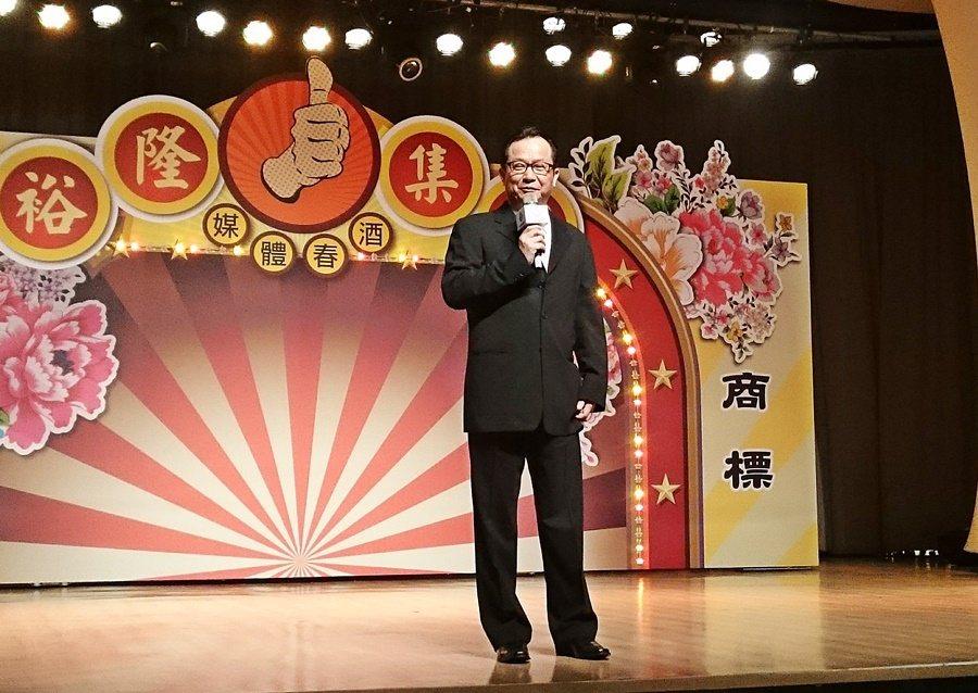 裕隆集團副執行長陳國榮主持新春媒體春酒,表示今年集團營收飄再成長,納智捷S3將扮演吃重角色。 記者趙惠群/攝影