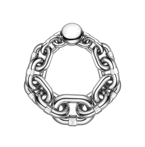 鎖鍊為本季女裝重點元素,HEROIC鎖鍊手環 CHAIN手環,22,200元。圖...
