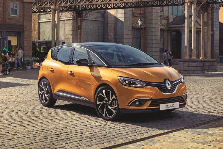 從原廠公布的照片來看,新一代Scenic外型同樣具備Renault最新的家族面貌...
