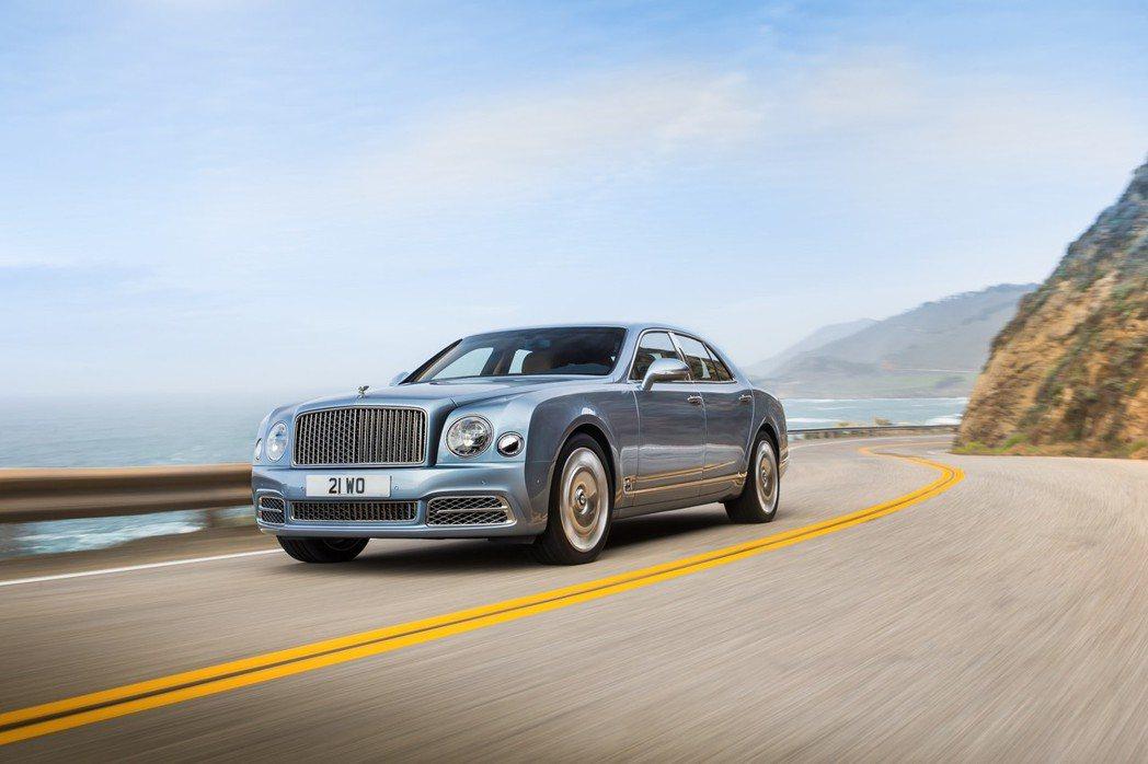 Bentley推出2017年式Mulsanne車系改款新車,增添車系戰力。 摘自Bentley.com