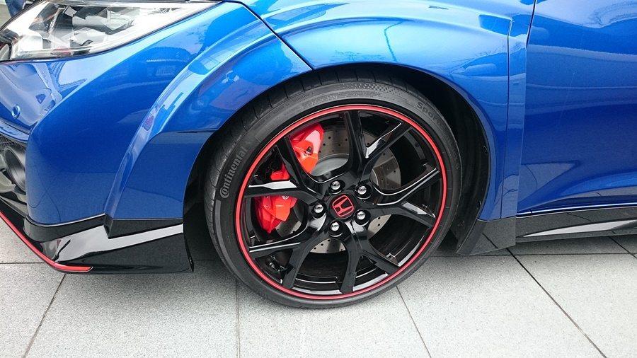 Honda Type-R搭載德國馬牌全新SportCOntact 6,在紐柏林寫下單圈最速紀錄。