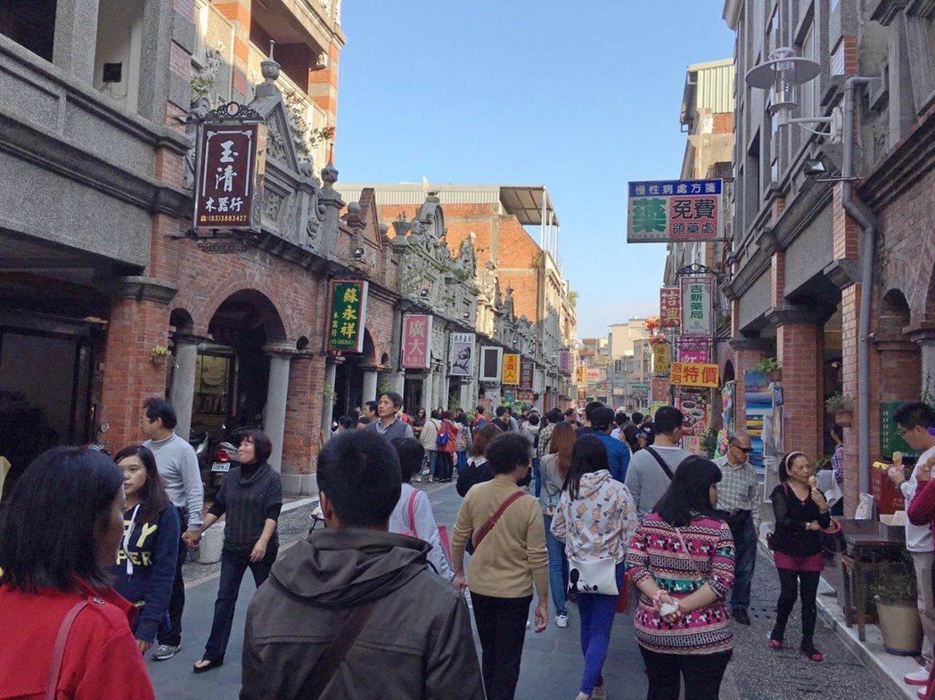大溪老街。 聯合報系記者賴佑維/攝影
