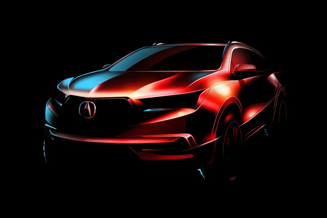 Acura近日宣布將在紐約車展上推出全新大改款MDX。 摘自Acura.com