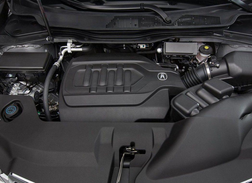 根據MDX現行款3.5升V6汽油引擎來看,可輸出290hp/36.9的最大動力,新一代動力將更強悍。 摘自Acura.com