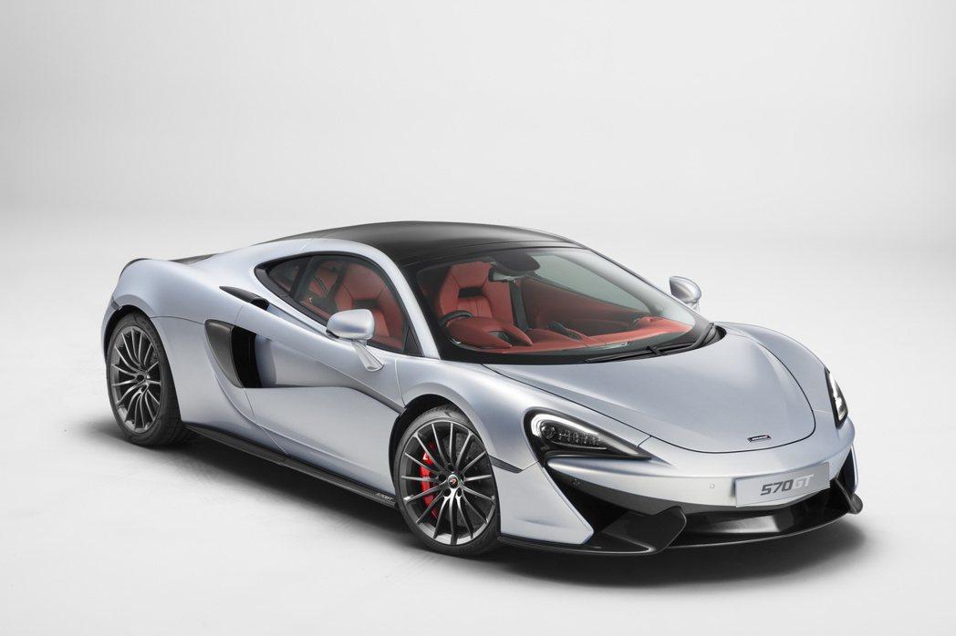 McLaren推出一款名為570GT的車款,以舒適豪華為主要訴求,滿足更多車主喜好。 摘自McLaren.com