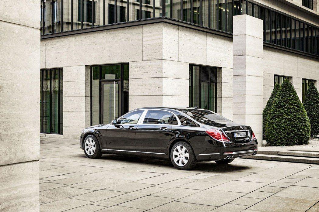 觀部分大抵與Maybach S600相似,僅於車尾方面取消S600專屬字徽。 摘自Mercedes.com