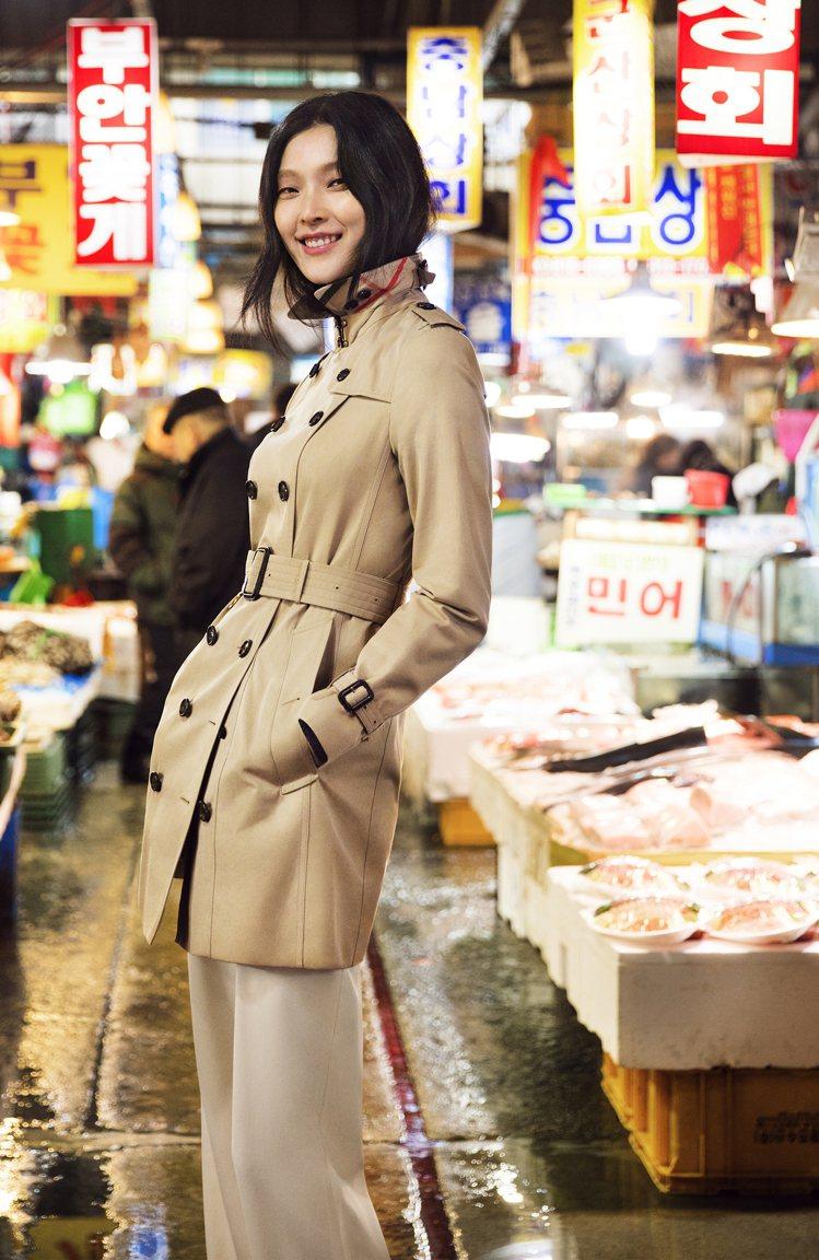 Sung Hee Kim。圖/Burberry提供