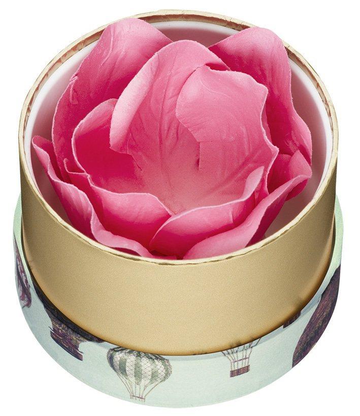LADUREE限量玫瑰迷你腮紅,蕊1,550元、盒650元。圖/LADUREE提...