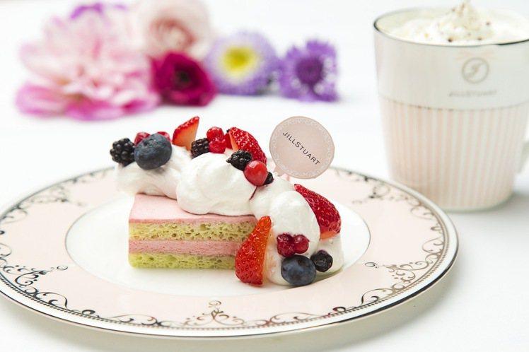 JILL STUART Beauty甜蜜午茶遊樂園推出期間限定的夢幻甜蜜午茶套餐...