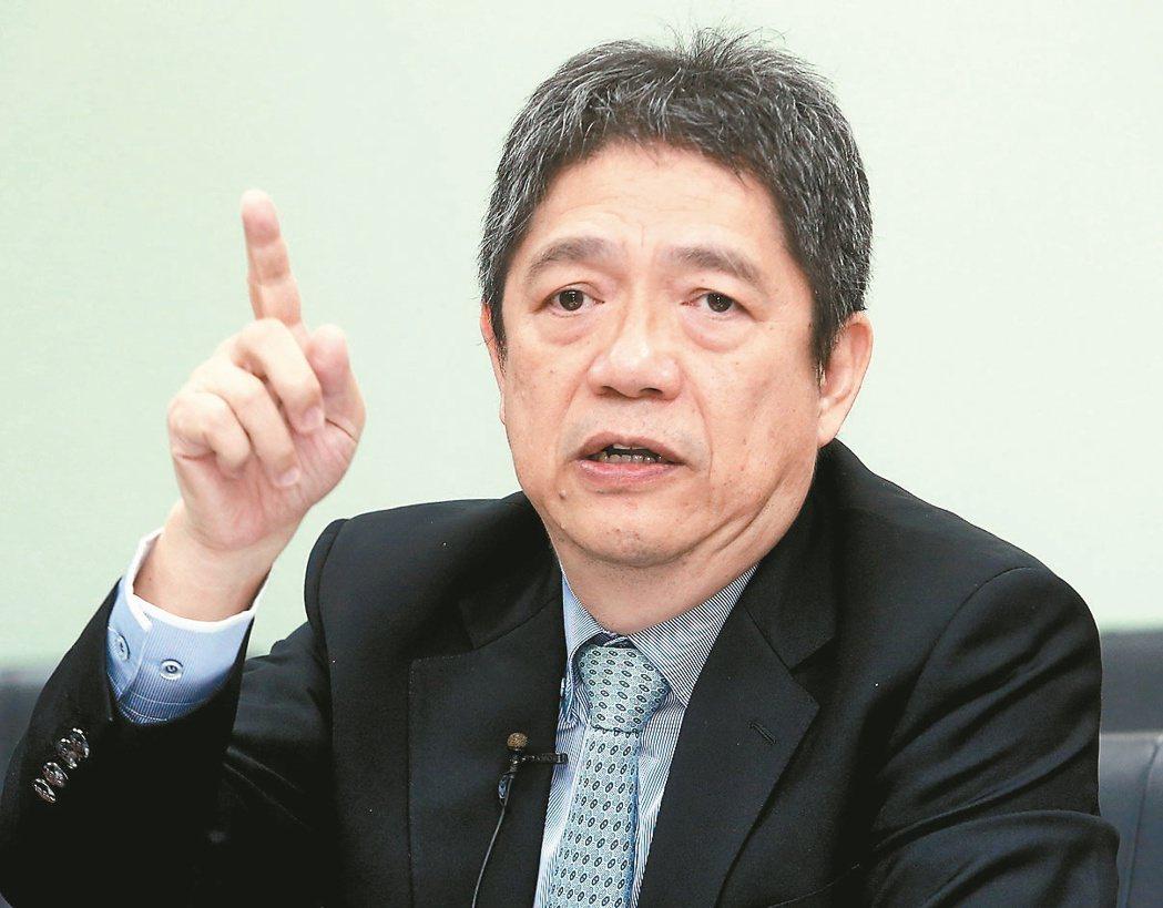 東台精機董事長嚴瑞雄。 記者屠惠剛/攝影