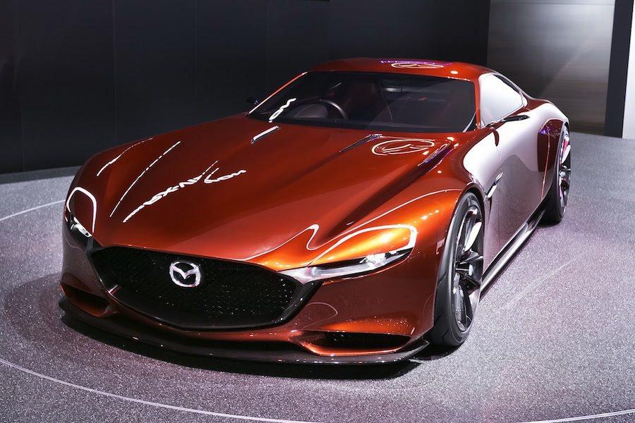 RX Vision Concept概念跑車。 Mazda提供