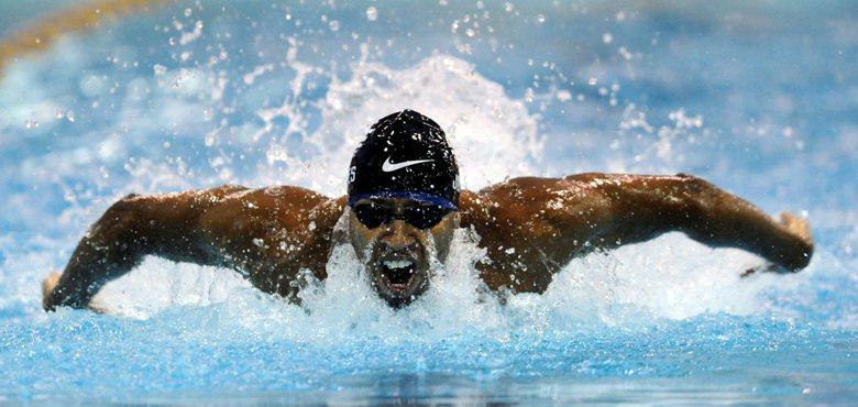 美國游泳名將Cullen Jones在北京和倫敦奧運拿下過兩金兩銀的成績。 圖/...