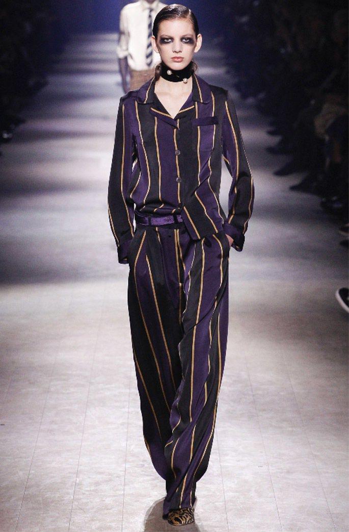 讓衣著成為藝術品,是Dries Van Noten主打的主題。圖/Dries V...