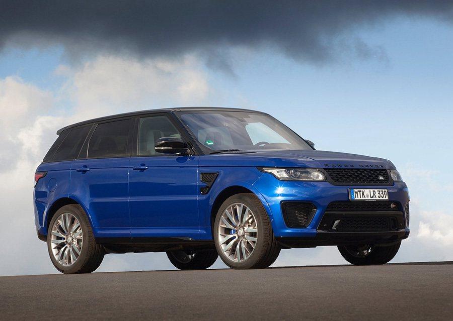 Range Rover Sport SVR性能休旅車將可依序於今年完成交車。 J...