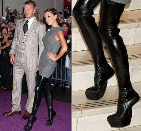 貝嫂也穿過無跟鞋,感覺還既霸氣又靈巧。圖/取自carltonlondon.com