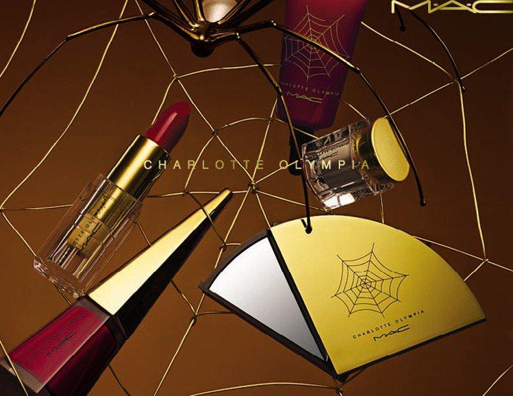 Charlotte Olympia設計師聯名系列產品形象圖。圖/M.A.C提供