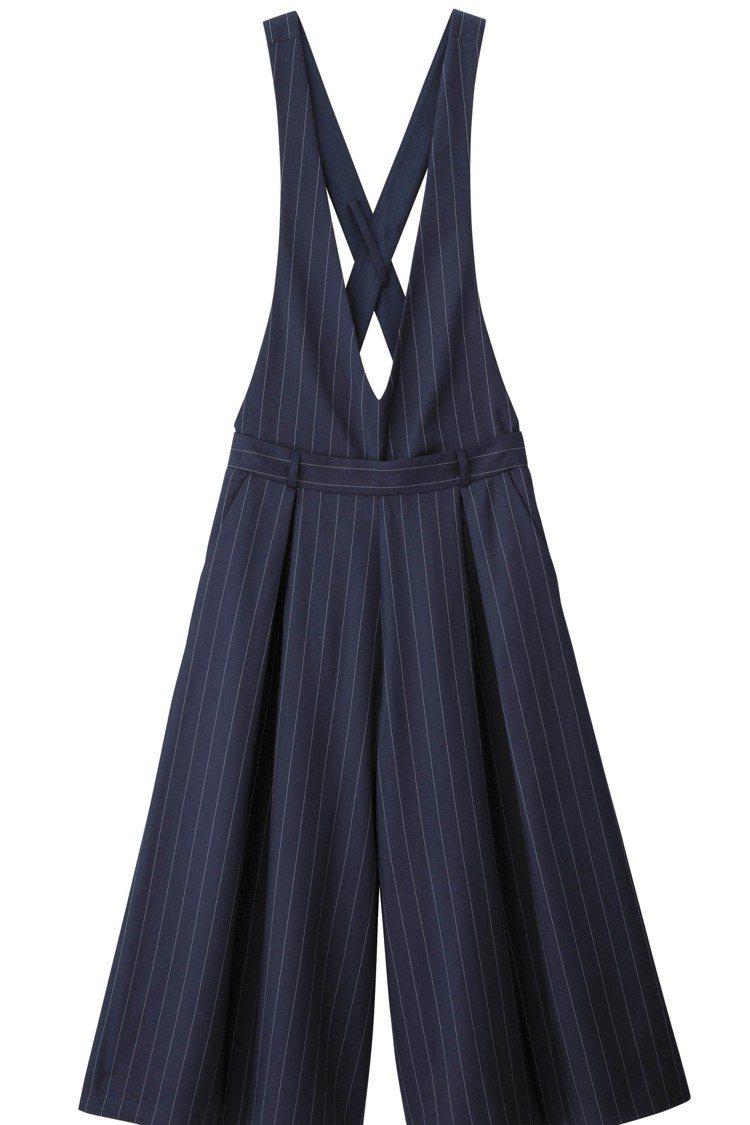 GU台灣網路商店將在3月10日正式開賣,每日特惠商品女裝吊帶寬褲850元。圖/G...