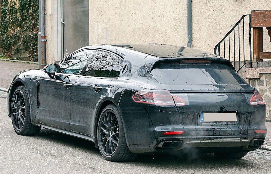 下一代的Porsche Pnanmera將出現Shoot brake跑旅車型。 ...