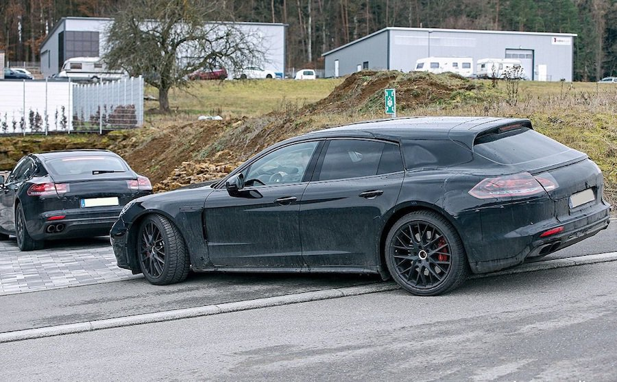 Porsche Panamera Shoot brake車性預計在2017年下半...