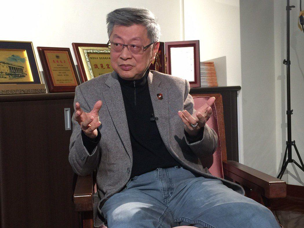 學者陳冲 記者楊湘鈞/攝影