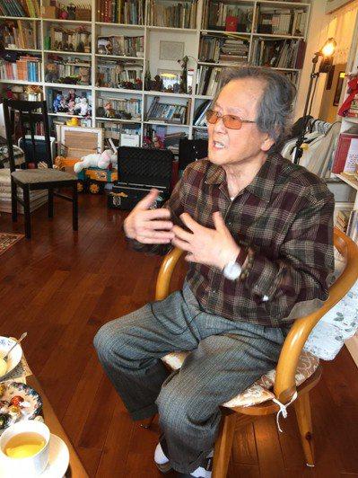 台灣重要鄉土文學作家黃春明 報系資料照