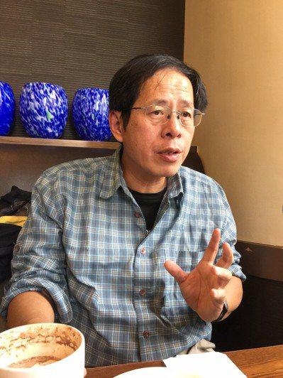 自然觀察、旅行作家劉克襄 楊湘鈞/攝影