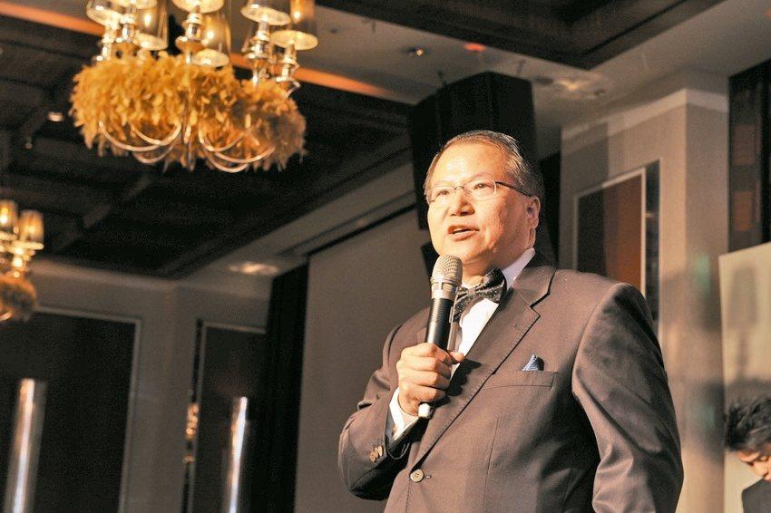 廣越企業總經理吳朝筆報系資料。 報系資料照