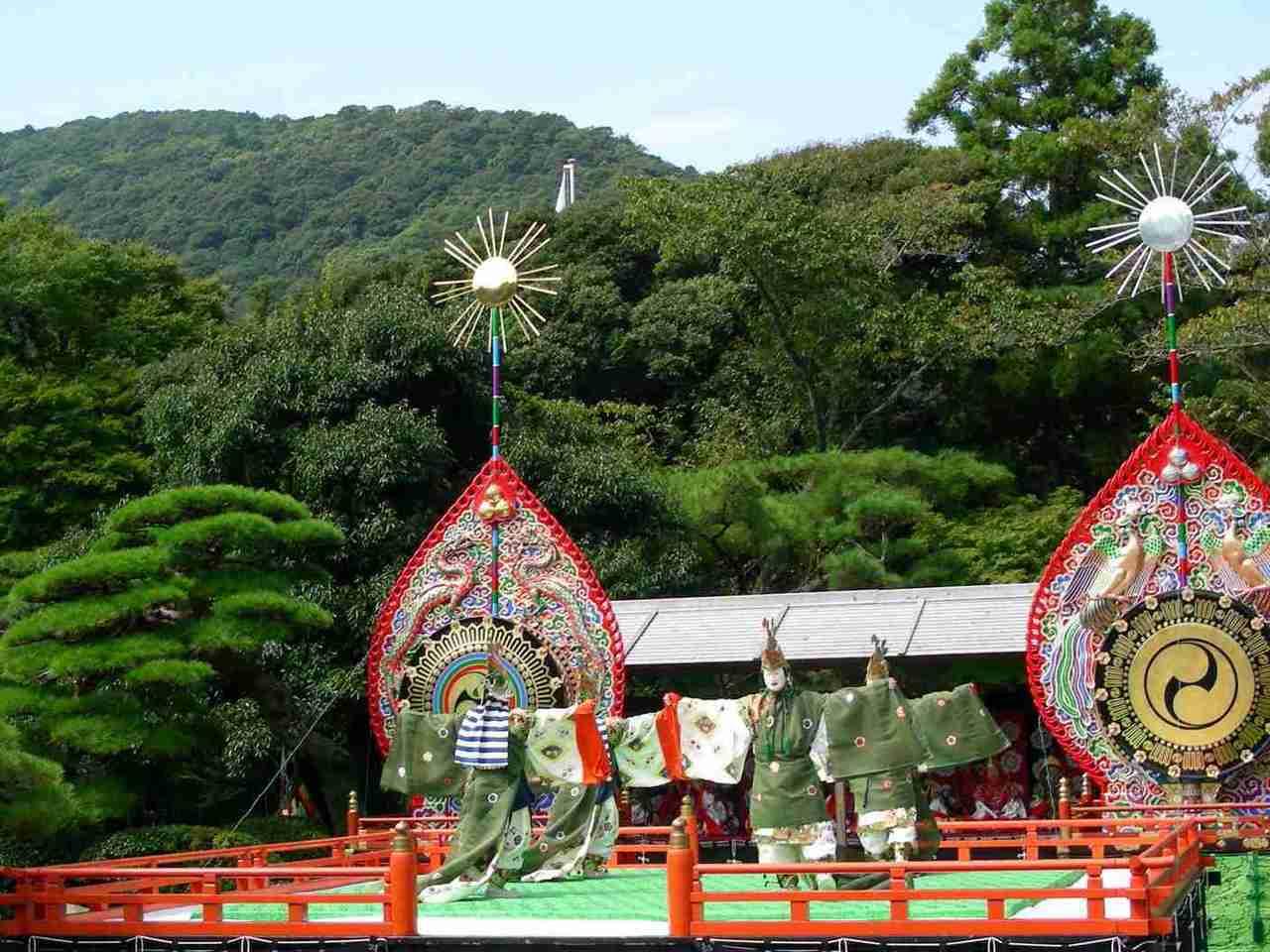 日本神道——伊勢神宮秋季神樂祭。圖/取自N yotarou