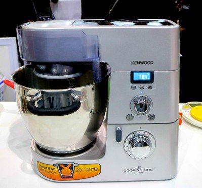 KENWOOD全能料理機。記者史榮恩/攝影