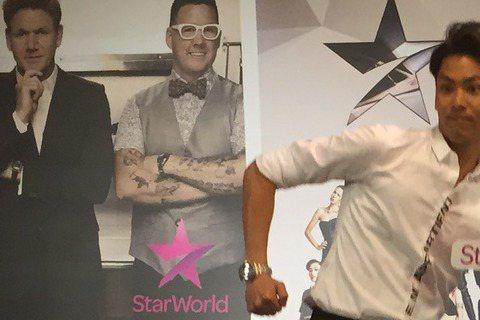 帥氣廚師陳德烈與亞洲名模娜塔莉聯合出席新節目記者會,陳德烈竟自曝吃了XXX,滿嘴都是XXXX味!!