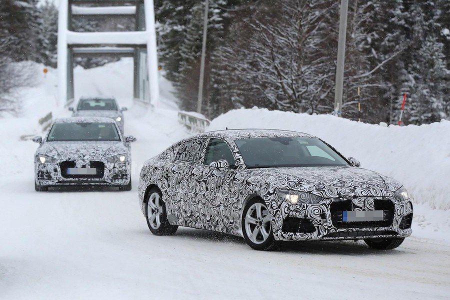 全新的Audi A5車系將會採用與新A4相同的MLB模組化平台進行開發。 摘自...