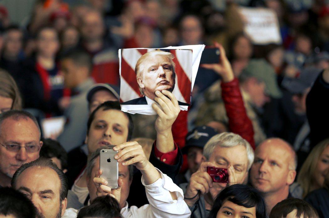 對比川普現在的形勢,這是不是也引起了共和黨人歷史的憂鬱? 圖/美聯社