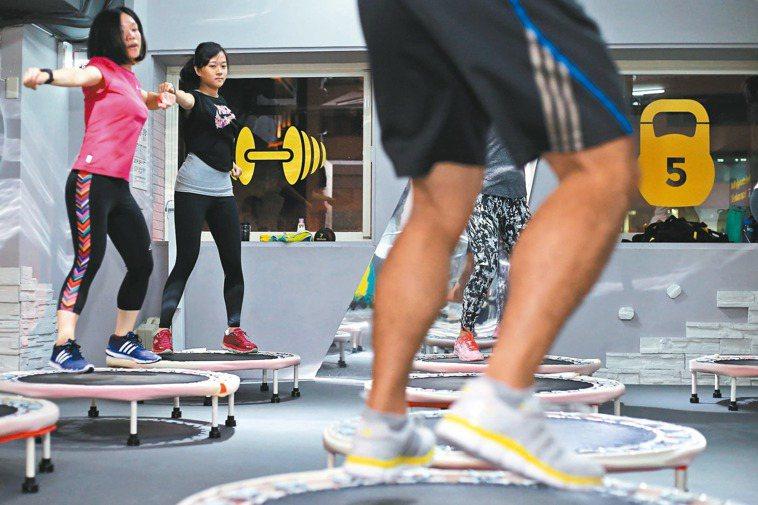 有氧運動有益身體健康。 本報資料照片