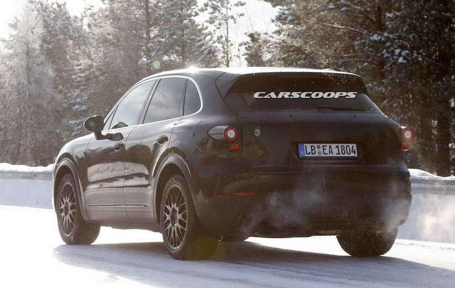 新的Cayenne預計最快在2017年底發表。 摘自carscoops.com