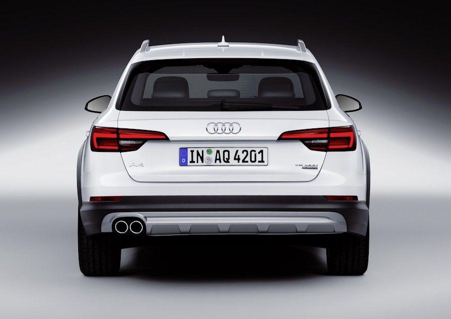 外觀上針對其越野性做出局部修改。 Audi提供