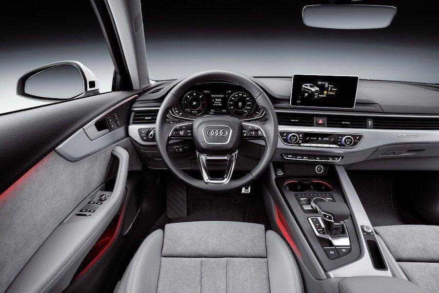 內裝則與一般版本A4相去不遠。 Audi提供