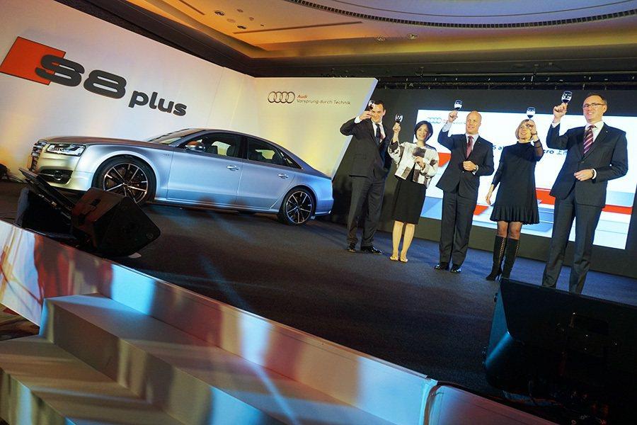 攝影 奧迪汽車在許多國家市場上都是第一名的德國汽車品牌,台灣奧迪期望也能在台灣市...