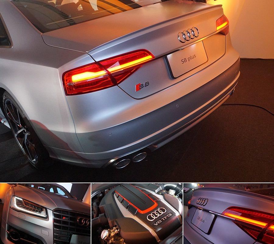 S8 plus超級轎車 記者敖啟恩/攝影