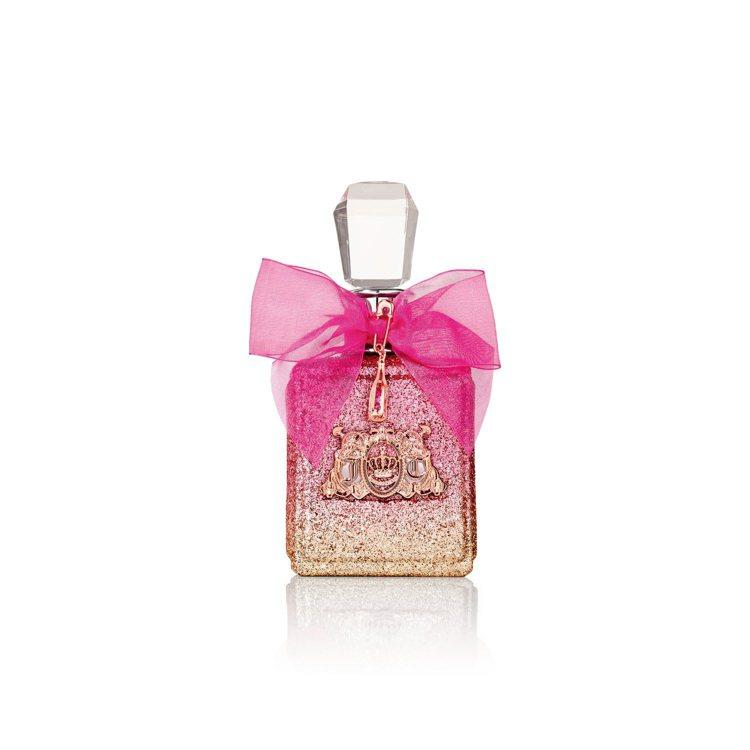 Viva La Juicy Rose玫瑰女性淡香精,以香甜的西洋梨結合茉莉、薔薇...